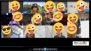 Animazione Maracaibo feste online a distanza virtuali da casa per quarantena virus videochat streaming