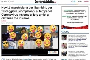 Articolo di giornale compleanni online Maracaibo feste durante quarantena bambini adolescenti adulti feste quarantena