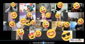 Festa di Carnevale online dei bambini e adolescenti festa virtuale in streaming insieme come festeggiare online il carnevale 2021 da casa sul web